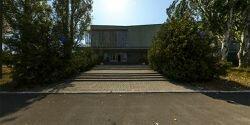 Дом культуры и досуга на территории санатория «Лазурный»